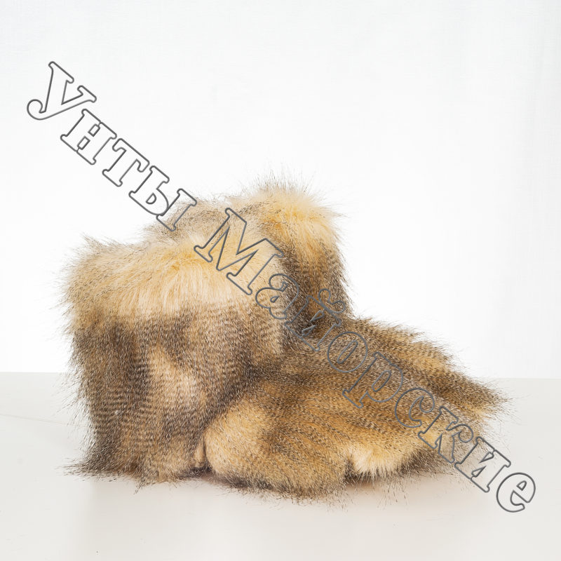 ЧД-2 Чуни домашние мех страус
